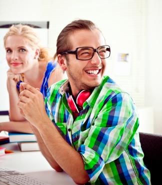 Happy Graphic Designers