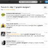 How a graphic designer searches Twitter for new clients