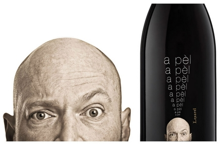 A Pèl Wine - Packaging Design by Freelance Graphic Designer Pagà Disseny.