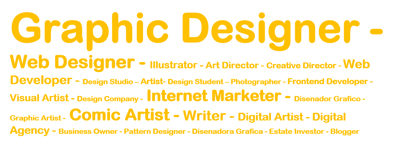 Who Follows Graphic Designers, Web Designers, and Illustrators on Twitter