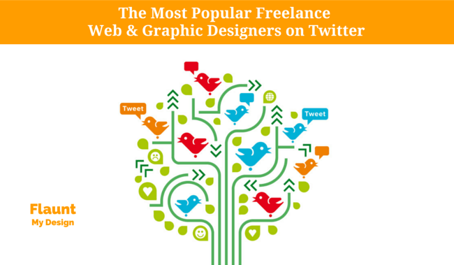 The Most Popular Freelance Web & Graphic Designers on Twitter