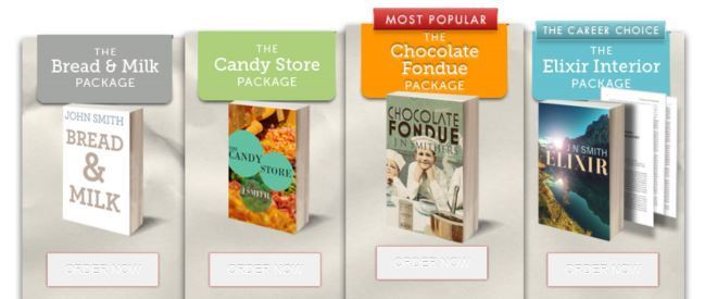Book Design Packages by Freelance Book Cover Designer Scarlett Rugers