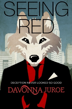 Seeing Red - Book Cover Design by Freelance Book Cover Designer Scarlett Rugers