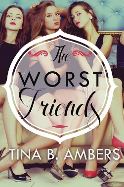 The Worst Friends. Book Cover Design by Freelance Book Cover Designer Scarlett Rugers.