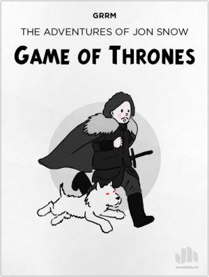 Game of Thrones TinTin Crossover by Infographics Designer Jack Hagley. Click to visit Jack's online portfolio!