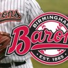 Sports Design for Birmingham Barons' by Graphic Designer John Hartwell.