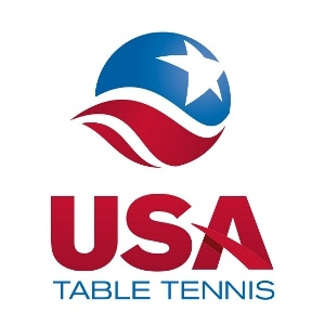Logo Design for USA Table Tennis by Freelance Sports Identity Designer John Hartwell. Click to visit John's online portfolio!
