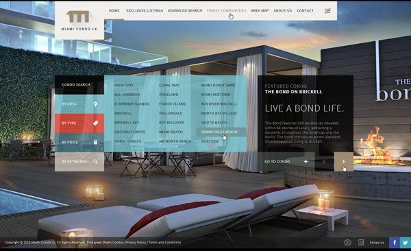 UI, UX, Web Design for Miami Condo LX by Offshore Freelance Designer Kaiser Sosa. Click to visit Kaiser Sosa's online portfolio!