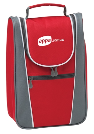 Cooler Bag Mock-up for APPA by Freelance Graphic Designer Marty Daley. Click to visit Marty Daley's website!