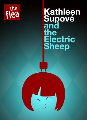 Electric Sheep. Theatrical Advertising (Poster Design) for Prospect Theater Company by Freelance Graphic Designer Jaime Vallé. Click to visit Jaime Vallés online portfolio!