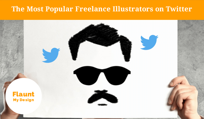 Toplist: The Most Popular Freelance Illustrators on Twitter