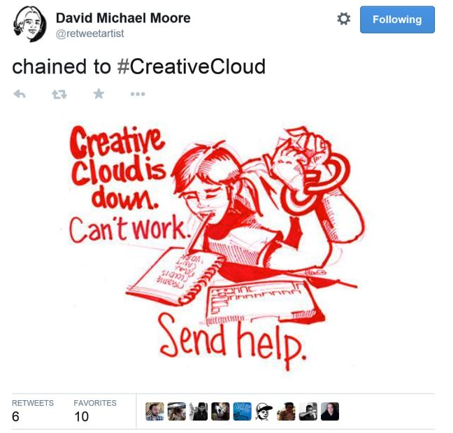 Twitter Marketing Ideas for Freelance Creatives - Illustrated Retweets. Click to see more of Michael's illustrated retweets!