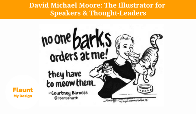 David Michael Moore. Illustrator for Speakers & Thought-Leaders.