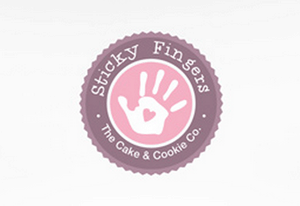 Logo Design for Sticky Fingers by Freelance Graphic Designer and Online Marketing Consultant Andrew Akinyede. Click to visit Andrew's portfolio!