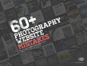 Free E-book 60 Photography Website Mistakes. The Opt-in Bonus You Get When Signing up for Foreground's Newsletter. Click to visit Alex's website!
