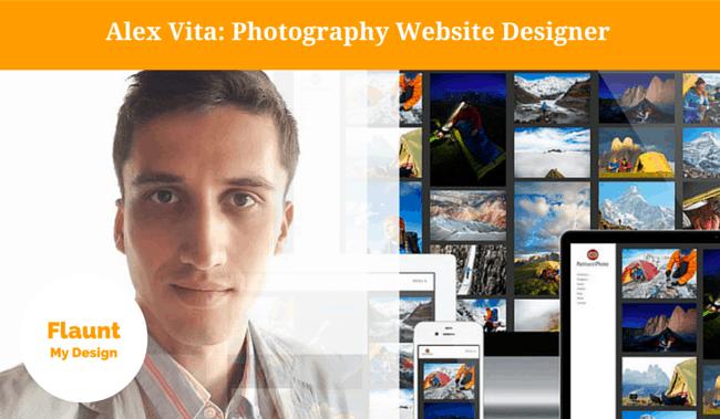 Photography Website Designer Alex Vita