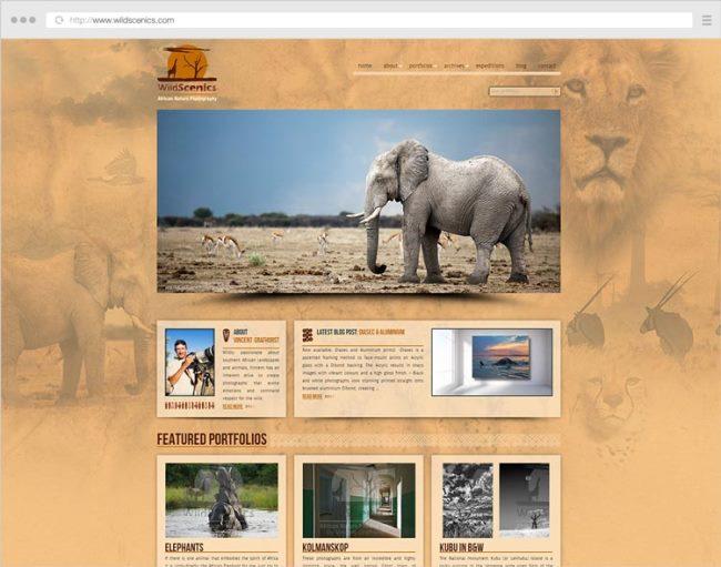 Website Design for Vincent Grafhorst by Photography Website Designer Alex Vita. Click to visit Alex's online portfolio!
