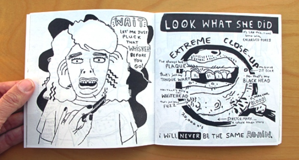 Direct Mail Ideas for Freelancers. Zine'Unlovable' by Freelance Illustrator, Artist & Cartoonist Esther Pearl Watson - Issue 2. Image courtesy of Robin Rosenthal, freelance creative director/illustrator.