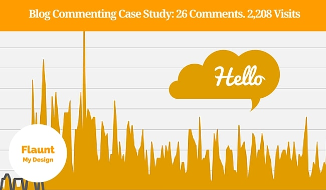 Blog Commenting Case Study 26 Comments. 2,208 Visits