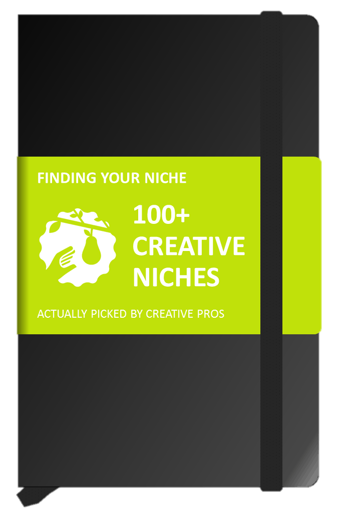 The Niche Notebook: The Little Black Book of Creative Niches. Dive deep into 100+ Niche Market Examples.