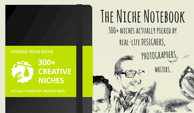 300 Niche Market Examples for Creative Professionals - The Niche Notebook