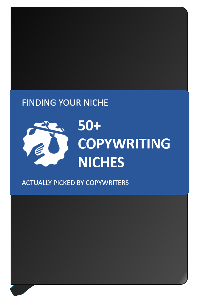 finding your copywriting niche 50 examples the niche notebook