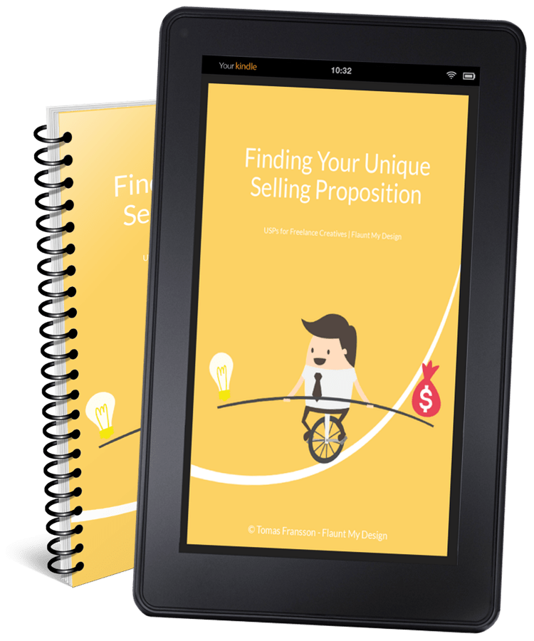 Finding Your Unique Selling Proposition | USPs for Freelance Creatives. Free eBook.