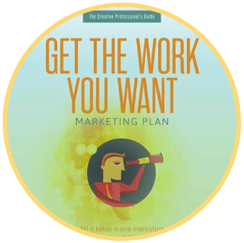 Marketing Plans for Design Businesses | Get the Work You Want Marketing Plan | FLAUNT My Design