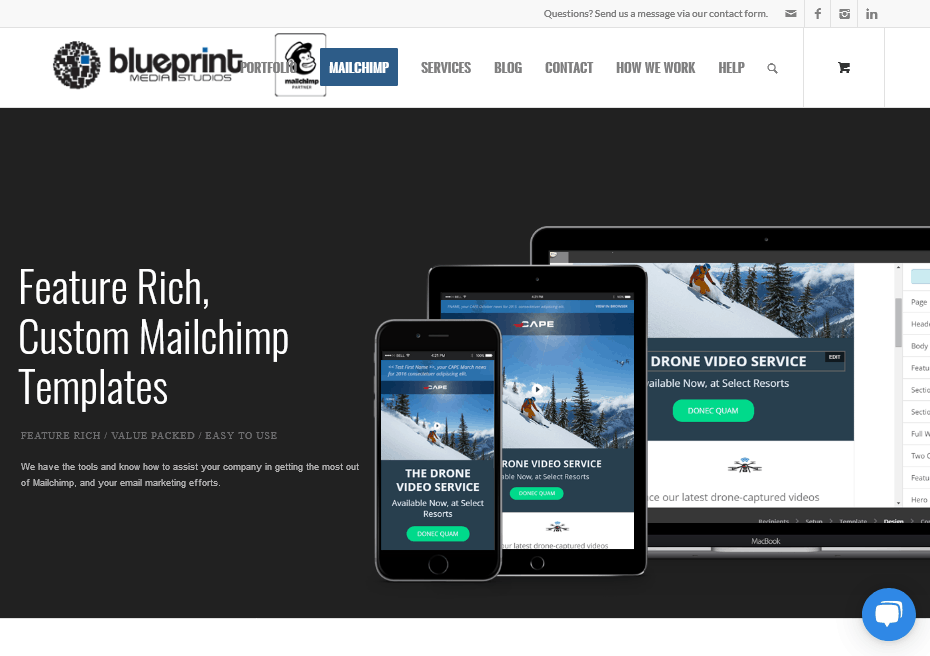 Fast-Growing MarTech Niches - Blueprint Media Studios - Mailchimp Design Experts