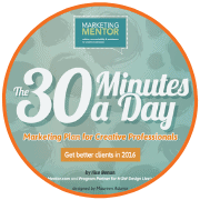Download Sample - 30 Minutes a Day Marketing Plan for Creative Professionals - Become a Thought Leader