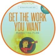 Download Sample - Get the Work You Want Marketing plan